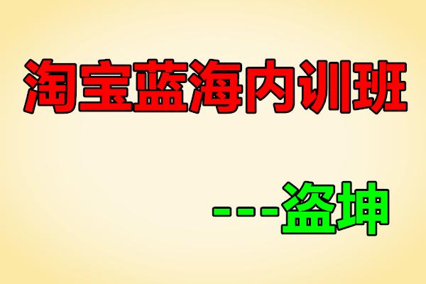 淘宝内训社  蓝海内训班【盗坤】(原价5288)