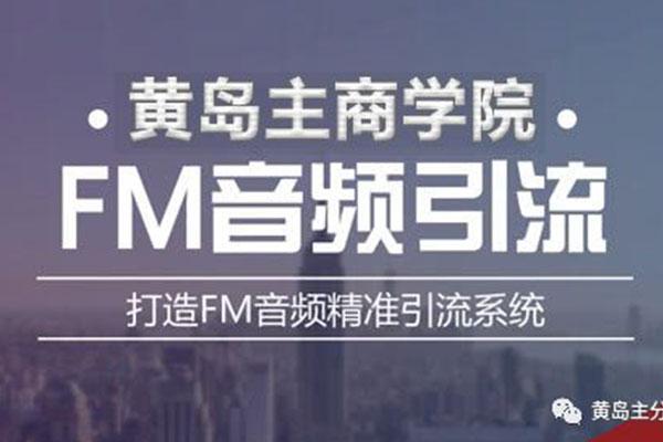 FM音频引流特训营1.0,黄岛主亲身操作每天30-50量,转化超级高~【黄岛主】(原价980)
