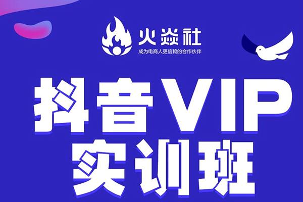 抖音VIP运营班【火焱社】【2020.3.12】(原价1980)