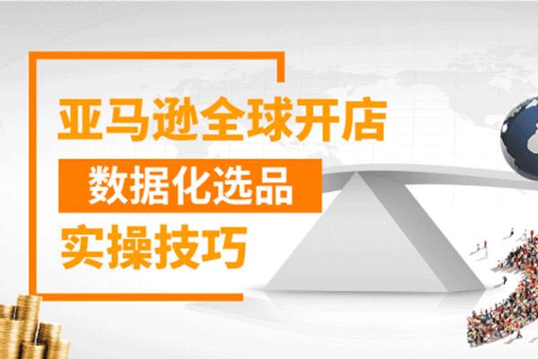 亚马逊全球开店数据化选品实操技巧【百聚汇商学院】(原价399)