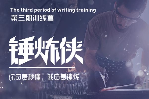 锤炼侠训练营第三期(原价599)