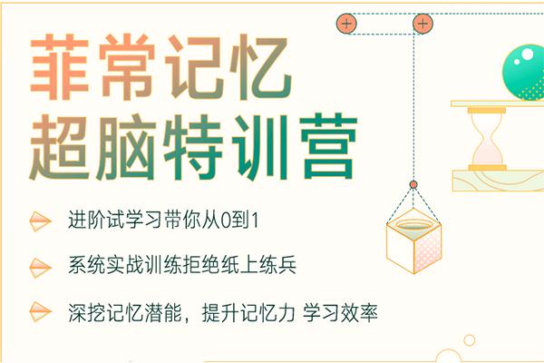 菲常记忆超脑特训营7期【卢菲菲】(原价5880)