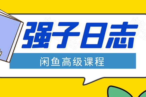 强子闲鱼高级课程【强子日志】(原价1498)